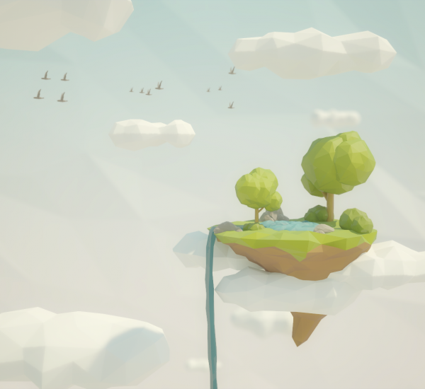 Low Poly Projects – Floating Island