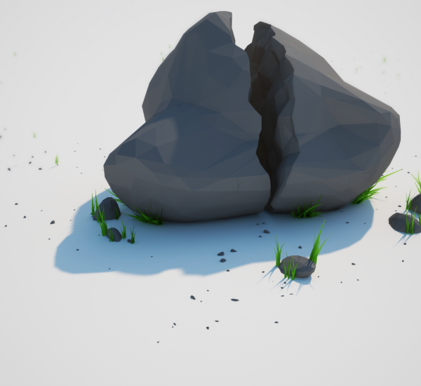 Low Poly Projects – Rock